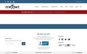 Page Not Found Sitemap Ccw Safe Ccw Safe National