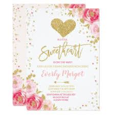 Valentines Invitations Valentine Day Baby Shower Invitations Zazzle