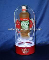 Classic Malts Display Stand Large Skyy Vodka Light Up Three Bottle Stand Glorifier Bar Display 67