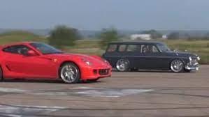 Www.facebook.com ferrari 458 vs volvo. Watch A Volvo Amazon Wagon Race A Ferrari 599 And Win Autoblog