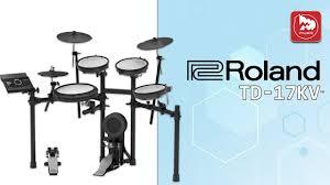 <b>Электронные барабаны ROLAND</b> TD-17KV - YouTube