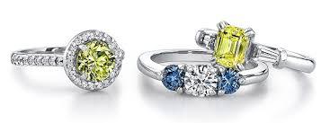 Yellow Diamond Vs White Diamond Ring Index