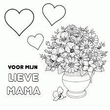 25 Bladeren Liefste Mama Jarig Kleurplaat Mandala Kleurplaat Voor