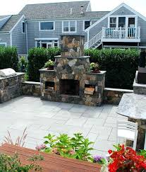 stone fireplace outdoor combined with 1 8 for frame inspiring outdoor stone fireplace plans free 744