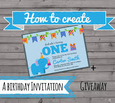 Create Your Invitation How To Create An Invitation The Best Ideas For Kids