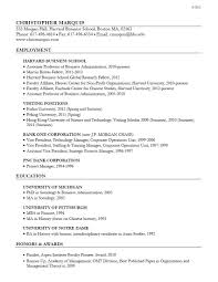 Business Administration Resume Template Sample Resume Business