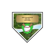 Size Of Home Plate Exclusive Home Plate Baseball Plaque 3 Sizes Awards International