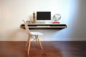 minimal floating wall desk  ultralinx