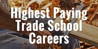 How Much Is Trade School Top 20 Highest Paying Trade School Jobs
