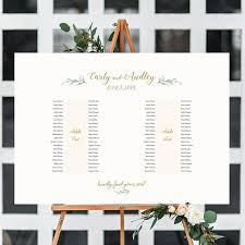 Printable Seating Chart For Wedding Reception 2 Banquet Table Seating Plan 2 Long Tables Printable