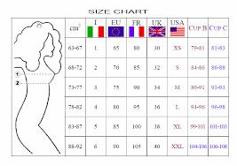 Explicit Bra Size Converter Italy 2019