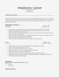 Sample Resume For Administrative Assistants Resume Samples Administrative Assistant New Sample Resume
