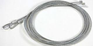 pair of 7 garage door cables torsion spring application