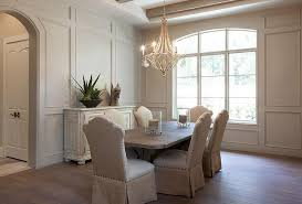 Wainscoting dining room Formal Full Wall Wainscoted Dining Room Stanton Homes Full Wall Wainscoted Dining Room Transitional Dining Room