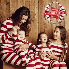 Matching Family Christmas Pajamas Striped Nightwear Baby Kid Adult Clothes Xmas Striped Dad Mom Kids Clothing Set Two Pieces Outfit Gift Mother