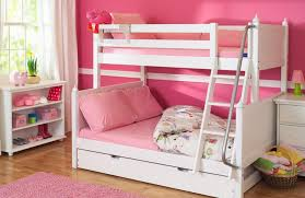 Girls Bunk Bed, Twin Bed Over Full Bed