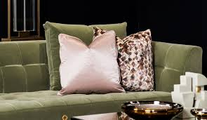 luxury cushions designer sofa throws