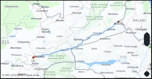 What Is The Distance From Lusaka Zambia To Chipata Zambia