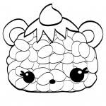 Num Noms Coloring Sheets Berry Cakes Free Printable Coloring Pages