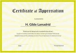 Certificat Of Appreciation Certificate Design Ppt Vfw Pdf