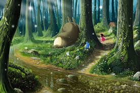 my neighbor totoro images totoro and mei hd wallpaper and background photos