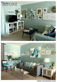 Diy Living Room Makeover Interesting Ideas