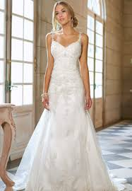 cheap modest lace wedding dress with sleeves and open back best