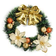 Weihnachtskranz Türkranz Adventskranz Aus Pvc Weihnachtsdeko