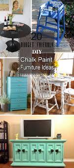 lots of budget friendly diy chalk paint furniture ideas