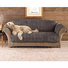couch covers with straps. Perfect Covers SureFit Deluxe Pet Cover  Sofa Slipcover Sable SF39227 Throughout Couch Covers With Straps S