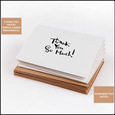 Handwritten Thank You Cards, Thank You Notes With Envelopes