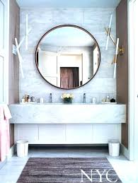 attractive hanging wall mirrors bathroom bathe well rounded mirrors in the bath
