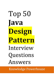 Java Design Patterns Interview Questions Stunning Amazon Top 48 Java DesignPattern Interview Questions Updated