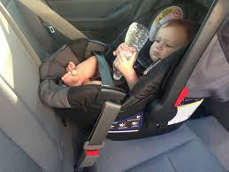 a car seat that normally s into a base can also be used without a base