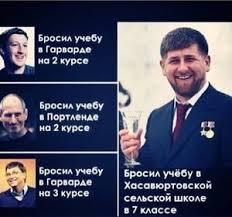 Рамзан Кадыров lurkmore Угадайте где академик