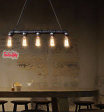 industrial bar lighting. Industrial Chandeliers Steampunk Water PIPE Edison Bulb Ceiling Bar Light  F1105# Industrial Bar Lighting E