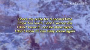 The Weeknd - Alone again lyrics - YouTube