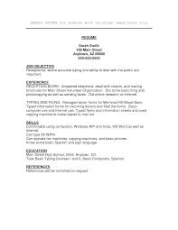 Resume Volunteer Work Experience