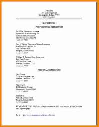 How To Write References On A Resume] References On A Resume Resume .