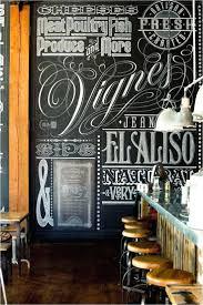chalk art wall decal