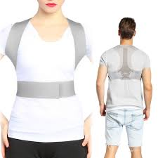 DOACT Posture Corrector for Men and Women, Back Brace Clavicle Support Chest Slouching Hunching, Adjustable Upper Shoulder
