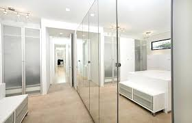 floor to ceiling wall mirrors closet interior mirrored doors contemporary with built ins c