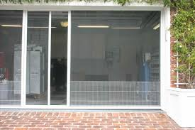 garage screen doorsGlass Patio Sliding Door Shutters Doors Door Wood Blinds Shutters