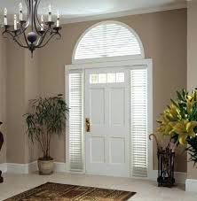 front door curtains. Front Door Window Treatments Curtains For Glass Doors Best Half Moon Ideas On Arch Blinds S