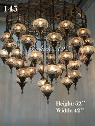 Mit Großen Mosaik Kronleuchter 37 Türkische Globenid145 Wn0ovmn8