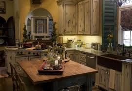 vintage french country kitchen. Contemporary Country Antique White Crackle Finish French Country Kitchen Ideas With Vintage A