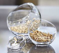 Decorative Glass Candy Jars Dia100cmSlope Section Ball ShapeCandy PotGlass Candy Jar 28