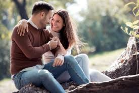 couple loving moment photos