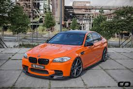 BMW 5 Series bmw m5 2000 specs : Fire orange M5 meets 3D Design