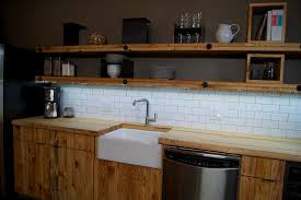 LED Light Strip Under Kitchen Shelves contemporary-kitchen